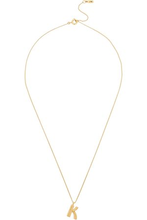 Jenny K Initial 14kt -dipped Necklace