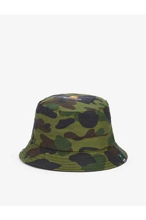 Barbour X A Bathing Ape camo-print waxed-cotton bucket hat