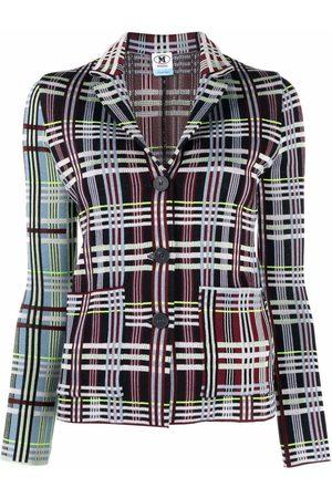 M Missoni Women Blazers - Plaid-check jacket