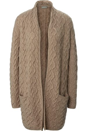 include Long cardigan in 100% cashmere size: 10
