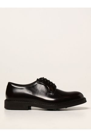 Doucal's Laceup derby shoes in leather