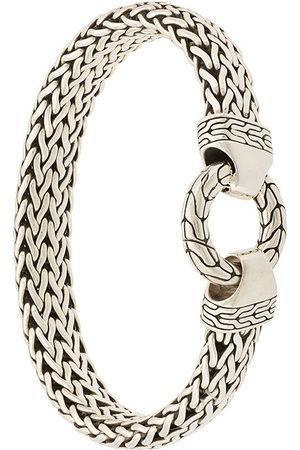 John Hardy Men Bracelets - Classic Chain Ring Clasp bracelet - Metallic