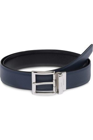 Prada Saffiano reversible belt