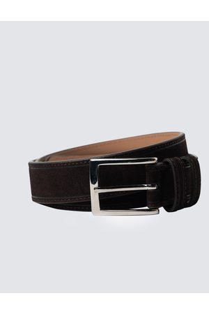 Hawes & Curtis Men Belts - Men's Suede Leather Belt in