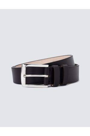 Hawes & Curtis Men's Plain Leather Belt