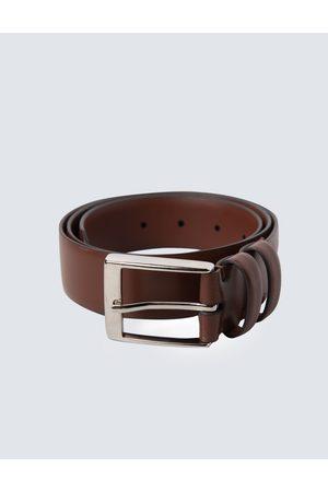 Hawes & Curtis Men's Leather Belt in Tan