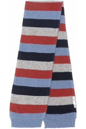 KNOT Boys Scarves - Stripe-pattern scarf