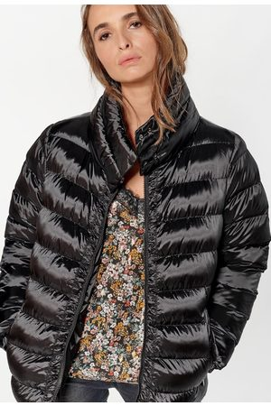 Le Temps des Cerises Women Coats - Quilted Padded Jacket with High Neck