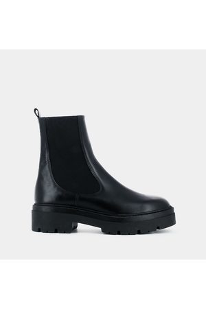 Jonak Picus Leather Chelsea Ankle Boots