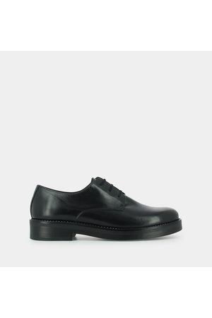 Jonak Midgnit Leather Brogues with Chunky Heel