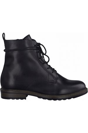 tamaris Greenstep Lace-Up Boots in Leather