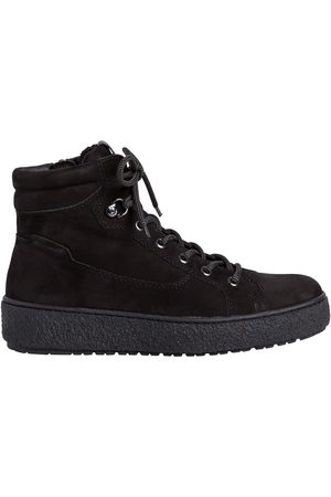 Tamaris Leather High Top Trainers