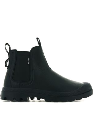 Palladium Pampa Chelsea Leather Waterproof Ankle Boots