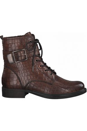 Tamaris Women Lace-up Boots - Leather Lace-Up Ankle Boots