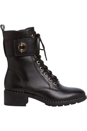 Tamaris Women Ankle Boots - Leather Lace-Up Ankle Boots