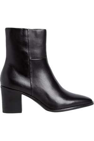 Tamaris Women Ankle Boots - Leather Pointed Ankle Boots with Heel