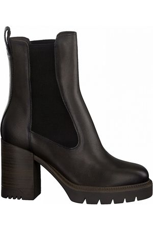 Tamaris Women Chelsea Boots - Leather Chelsea Boots with High Heels