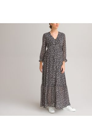 La Redoute Floral Maternity Maxi Dress with Ruffles
