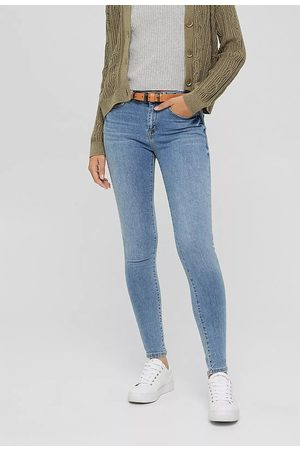 Esprit Organic Cotton Mix Skinny Jeans in Mid Rise