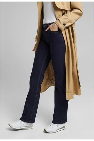 Esprit Organic Cotton Mix Bootcut Jeans in Mid Rise