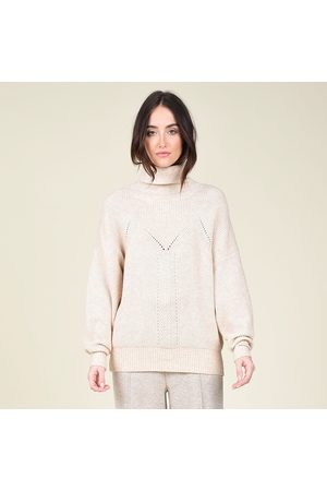 Molly Bracken Detailed Knit Turtleneck Jumper