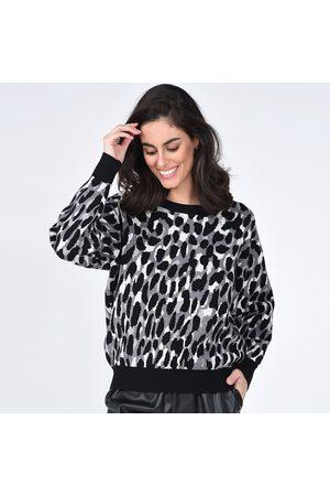 Molly Bracken Women Sweatshirts - Camo Crew Neck Jumper