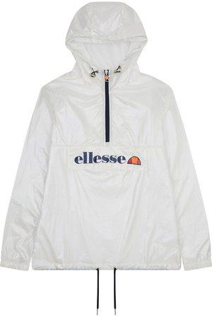 Ellesse Adaline Hooded Jacket with Half-Zip, Logo Print and Pocket