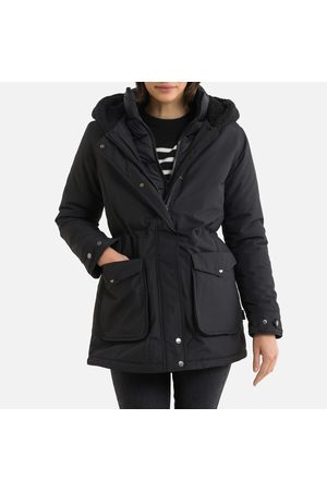 Schott NYC Women Parkas - 3-in-1 Hooded Parka with Removable Padded Jacket