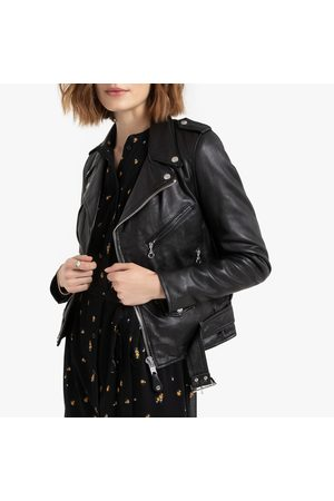 Schott NYC LCW8600 Leather Biker Jacket with Pockets