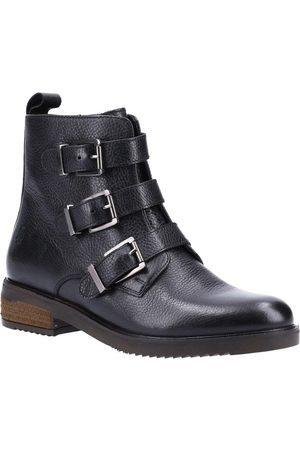 Hush Puppies Pria Buckle Ankle Boots