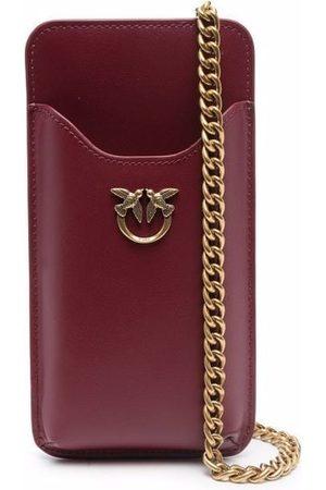 Pinko Leather phone pouch