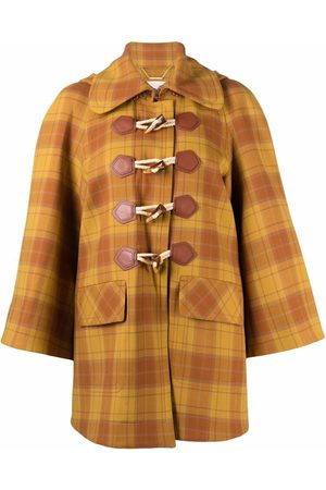 ZIMMERMANN Check hooded jacket