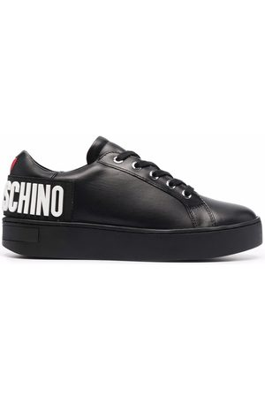 Love Moschino Logo-letter low-top sneakers