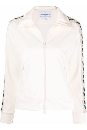 Casablanca Laurel tracksuit jacket - Neutrals