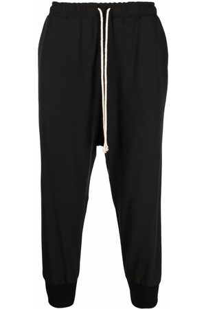 Alchemy Drawstring-waist cropped trousers