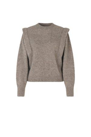Second Female Women T-shirts - Abby Knit