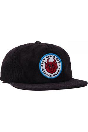 Obey Men Hats - Clothing Disco Devil 6 Panel Hat - ONE SIZE, Colour: