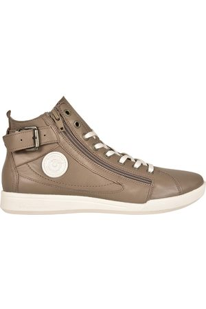 Pataugas Palme High Top Leather Trainers
