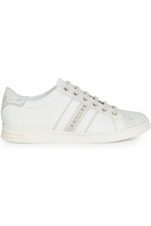 Geox Jaysen Leather Breathable Trainers