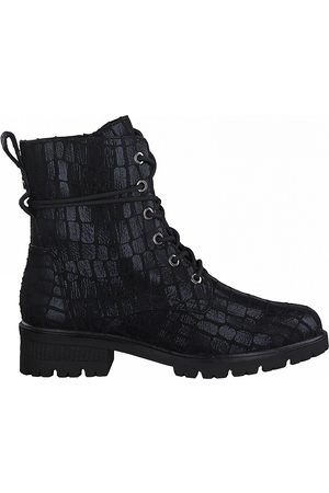 tamaris Flat Lace-Up Ankle Boots
