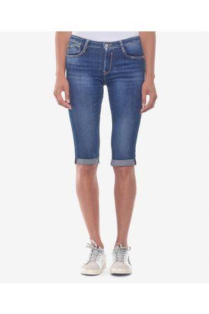 Le Temps des Cerises Cropped Mid Rise Jeans