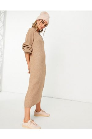 Object Maxi knitted dress in
