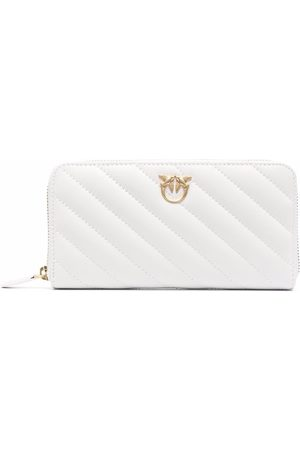 Pinko Quilted leather wallet