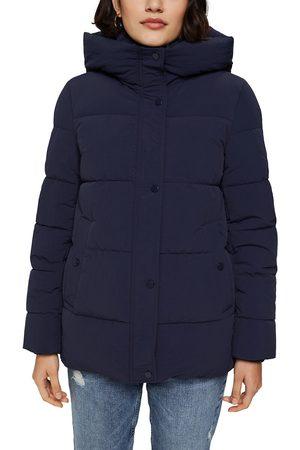 Esprit Women Coats - Short Hooded Padded Jacket with Zip Fastening