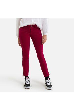 "IKKS Stretch Cotton Slim Trousers, Length 28.5"""