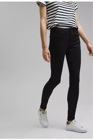 Esprit Women Skinny - Organic Cotton Mix Skinny Jeans in Mid Rise