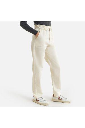"Petite Mendigote Women Trousers - Moran Cotton Straight Trousers, Length 29"""