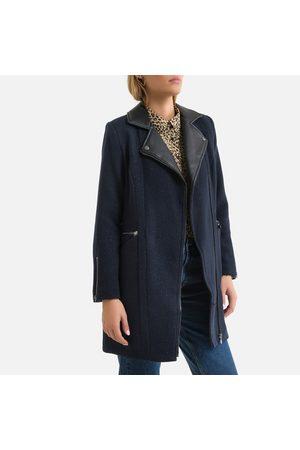 Le Temps des Cerises Women Coats - Mid-Length Coat with Tailored Collar