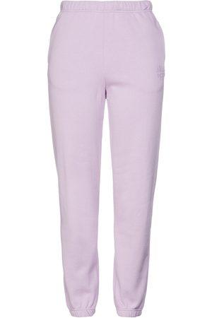 Baum und Pferdgarten Woman Jeantelle Printed Cotton-fleece Track Pants Lilac Size L