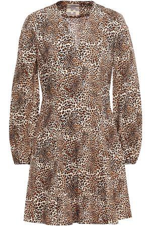 Baum und Pferdgarten Woman Alivia Printed Organic Cotton-poplin Mini Dress Animal Print Size 34